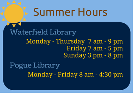 Library Summer Hour